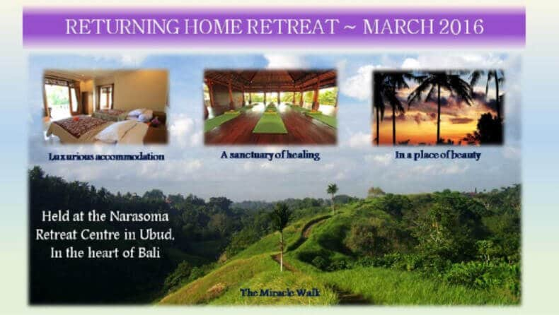 Returning Home Retreat March 2016