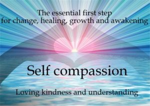 The essential first step for change, healing, growth and awakening!